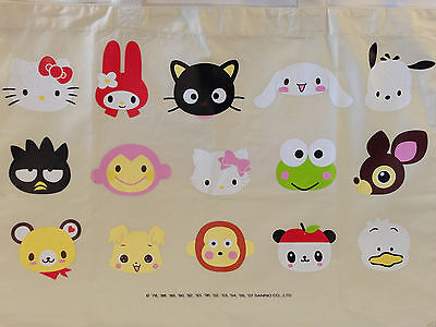 Rare Sanrio Character Town Hello Kitty Chococat Reusable Grocery Tote Bag NEW