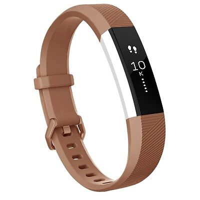 (Small, Brown) - Fitbit Alta HR Bands, Vancle Classic Accessory Alta HR and Alta