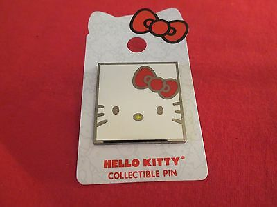 Hello Kitty Square Face Pin New!