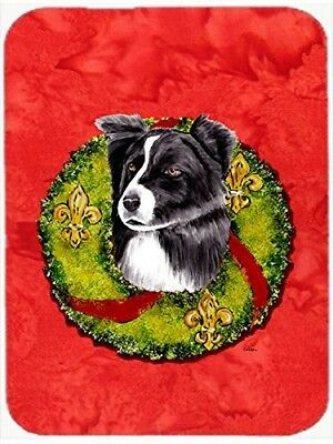 Caroline's Treasures SC9104LCB Border Collie Glass Cutting Board, Large,