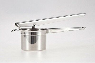 SIKER Stainless Steel Potato Ricer Fruit Masher and Baby Food Press
