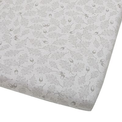 The Little Green Sheep Wild Cotton Organic Fitted Sheet For Cot / Cot Bed