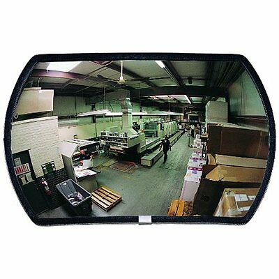 See Material Handling Products All RR1524 Round Rectangular Glass Indoor Convex