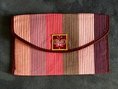 Beautiful Multi-Colored, Butterfly Oriental Korean traditional hanbok pouch