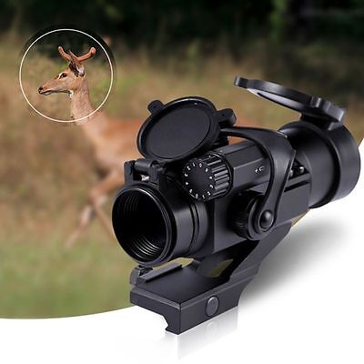 4 x 32 Green/Red Hunting Rifle Scope Red Laser Dot Sight Holographic Telescope