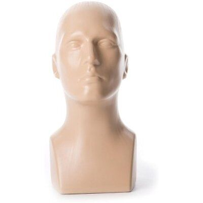 Free Dress Forms & Mannequins Standing Tabletop Male Mannequin Head Hat, Scarf