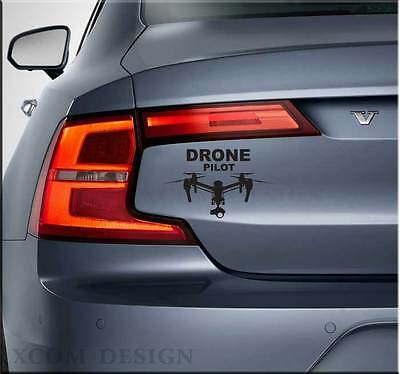 Drone Pilot, car sticker,vinyl decal