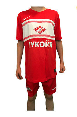 Spartak Moscow Kids Official Nike Football Shorts Red