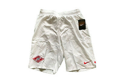 Spartak Moscow Kids Official Nike Football Shorts White