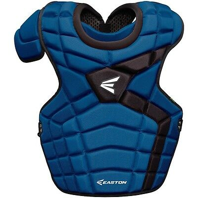 (Royal/Black) - Easton Mako II Adult Catcher's Chest Protector. Free Shipping