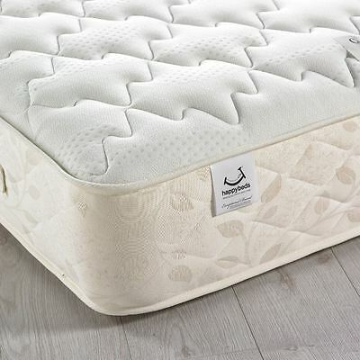 Happy Beds Comfort Ortho 1400 Pocket Sprung Mattress Quilted Medium-Firm