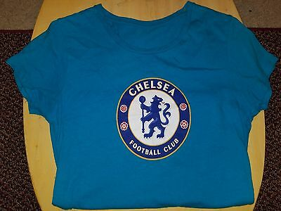 41a2d05b45c795 Chelsea FC Soccer Football Club Ladies S or M Women's Scoop Neck T-Shirt