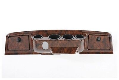 Yamaha G14, G16, G19, G22 Dash w 4 Cup Holders - Burled. Delivery is Free