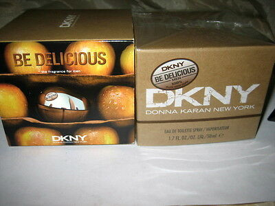 DKNY Be Delicious Men  50ml EDT Eau de Toilette Spray NEU/OVP