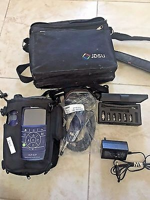 JDSU FIT-8201-PRO OLP-82P Fiber Inspection Kit W/ JDSU P5000i Fiber Probe, Tips