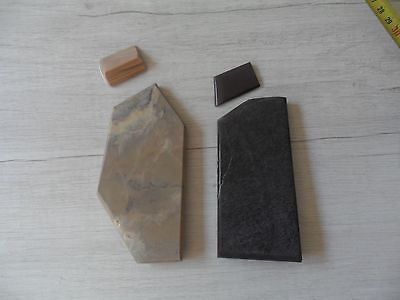 Belgian Coticule (Lot of 2), Sharpening stone .