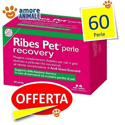 Ribes Pet Perle Recovery - 60 perle in busta