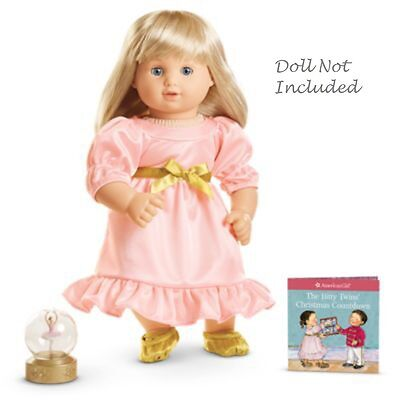 """American Girl BT BITTY TWIN BALLERINA NIGHTGOWN for 15"""" Baby Dolls Pajamas NEW"""