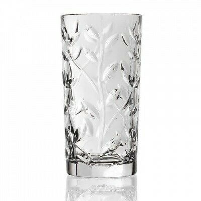 RCR Laurus Crystal Highball (Set of 6). Lorren Home Trends. Shipping Included