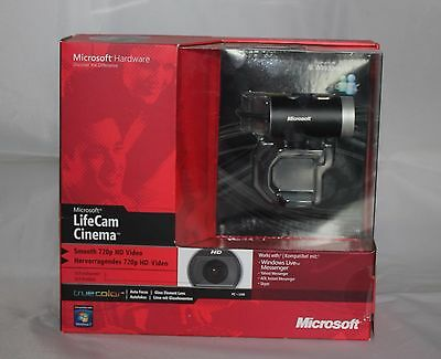 Microsoft LifeCam Cinema for Business Model 1393 Brand New Sealed Box