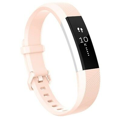 (Small, Blush Pink) - Fitbit Alta HR Bands, Vancle Classic Accessory Alta HR and
