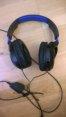 Turtle Beach EarForce Recon Gaming Headset SONY PS3 PS4 Playstation 3 4 PC MAC