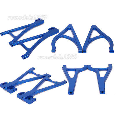 Alum Front Rear Upper Lower Suspension Arm For RC 1:10 Traxxas E-Revo Revo 3.3