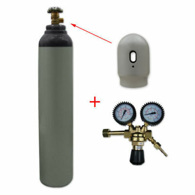 Nitrogen Gas Bottle Cylinder New! Full 1.6m3 8L 200 Bar Free Delivery Reusable