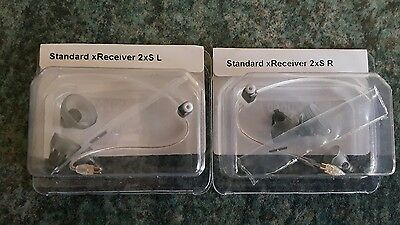 2 NEW Phonak / Unitron STANDARD  Receivers SIZE 2 Hearing Aids rrp £59.98 pair