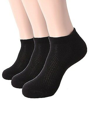 (One Size, 3 Pack-black) - OSABASA Men's 1 or 3 or 5 Pack Low Cut Work/Athletic