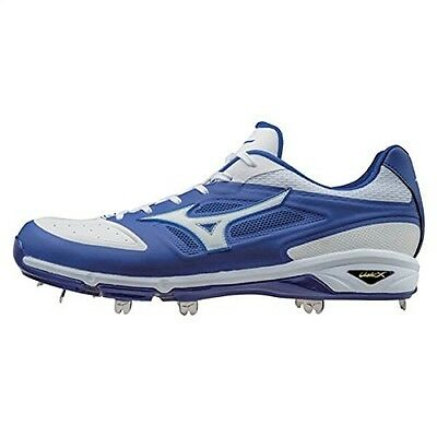 (12 D(M) US, Black/White) - Mizuno Men's Dominant Ic Baseball Shoe. Huge Saving