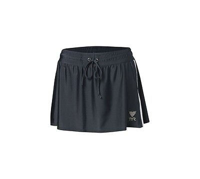 (Small, Steel Gray) - TYR Female Two Toned Running Skirt. Free Delivery