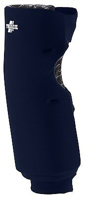 (Large, Navy Blue) - Adams USA Trace Long Style Softball Knee Guard. Shipping is