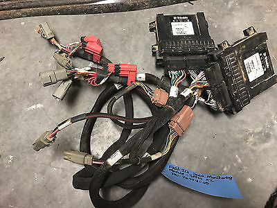 Set of 2 Trimble 76774-05 Field IQ Seed Monitoring Modules with Cables