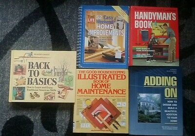 Home Improvement Books Lot