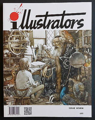 ILLUSTRATORS Magazine No.7 - Bernie Fuchs, John Vernon Lord