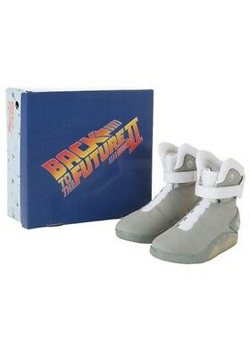 USED BACK TO THE FUTURE 2 LICENSED LIGHT UP SHOES Size 9 (with defect)