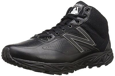 (11.5 2E US, Black) - New Balance Men's MU950V2 Umpire Mid Shoe. Huge Saving