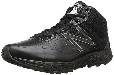 (7 D(M) US, Black) - New Balance Men's MU950V2 Umpire Mid Shoe. Shipping Include