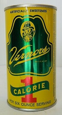 Rare Vintage Vernor's Ginger Ale Soda / Pop Can Promotional Bank, Detroit MI