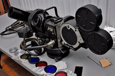 Mitchell Theodolite PH-BE-33 WWII Military Signal Corps 35mm Camera+4x 35mm Mags