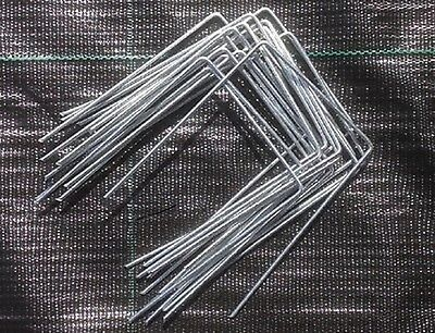 Artificial Grass Fixing Pins Weed Control Heavy Duty Metal Pegs Large Staples