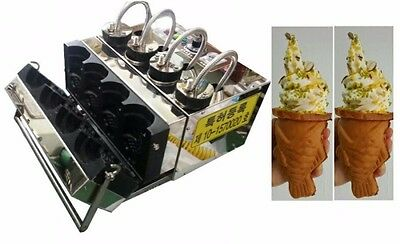 New 2017 Model Vertical Commercial Taiyaky Ice Cream Machine 110V