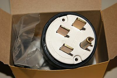 HUBBELL HBL9451C 9451C Male Plug 14-50P, 50A 125/250V Substantially New Boxed!