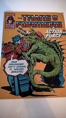 Transformers 20th AUG No.179 Marvel Comic G.I. JOE The Action Force
