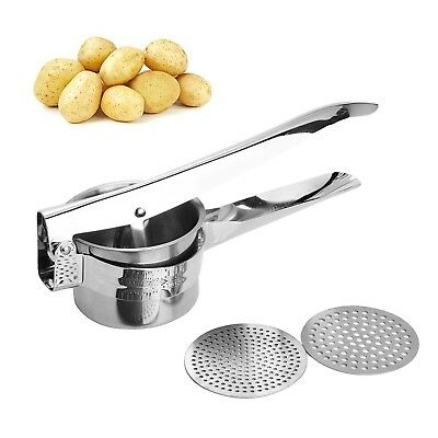 WarmHut Stainless Steel Potato Ricer and Masher, Fruit Press Vegetable