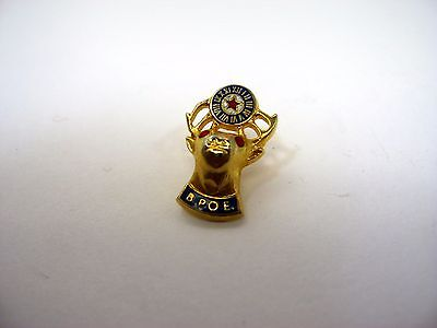 Vintage Collectible Pin: BPOE Elks