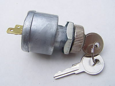 EZGO Golf Cart Key Switch 2 prong 2 Keys 81-UP Gas & Electric 17421G1