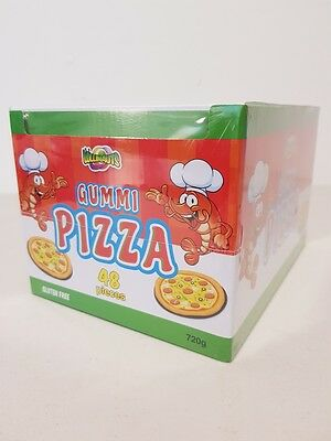 Lollinauts  Gummi Pizza 48 pcs