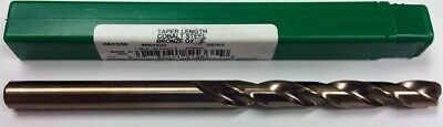 "35/64"" Cobalt Taper Length Drill, 4-7/8"" Lof, 8-1/4"" Oal, Ptd M51Co 51335"